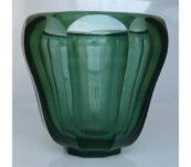 Josef Hoffmann Wiener Werkstatte kristallen vaas