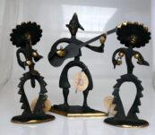 Bronzen muzikantjes Oostenrijk 1940